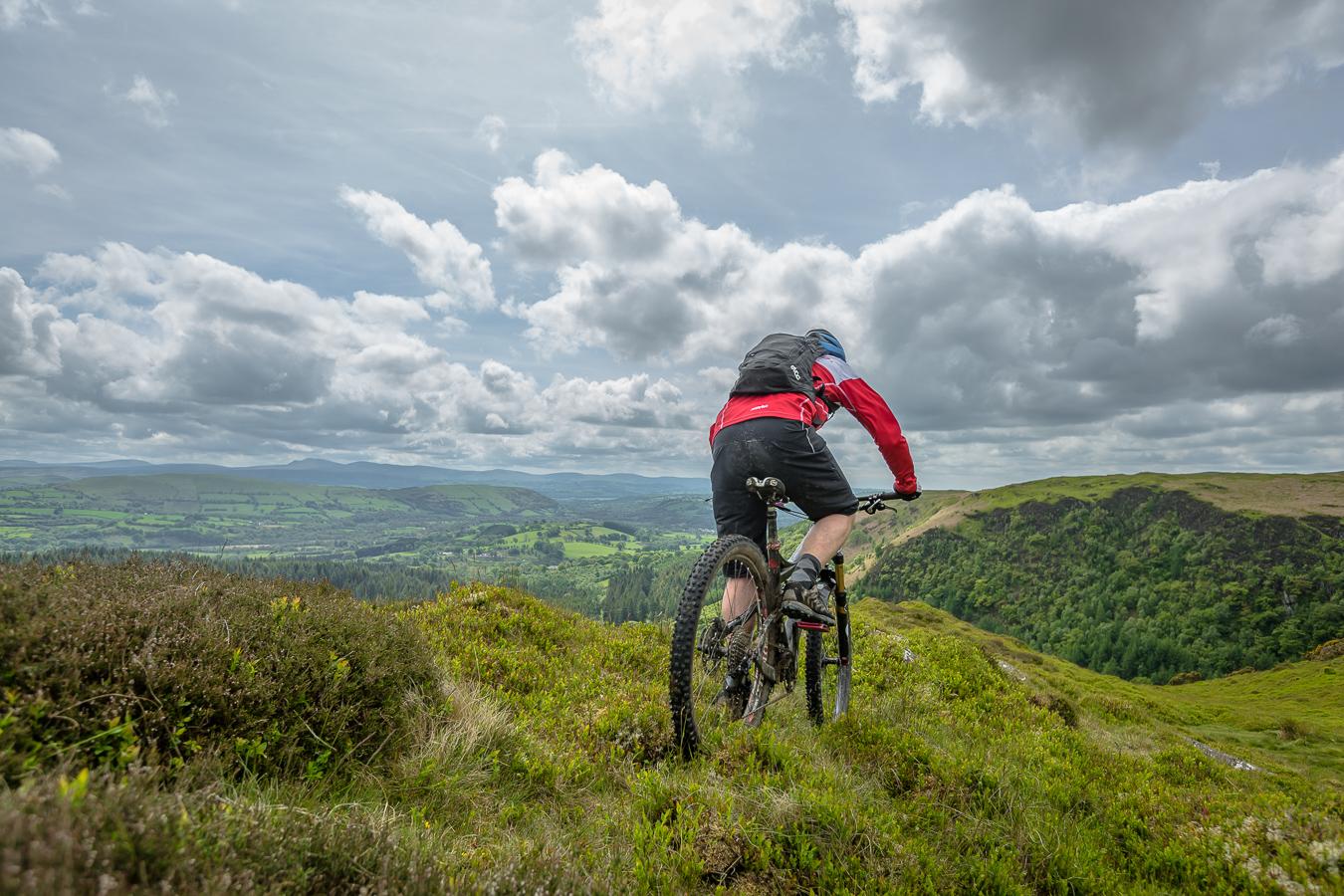Cwm Rhaeadr, Mynydd Mallaen, mtb, mountain biking, guide, route, morvelo,