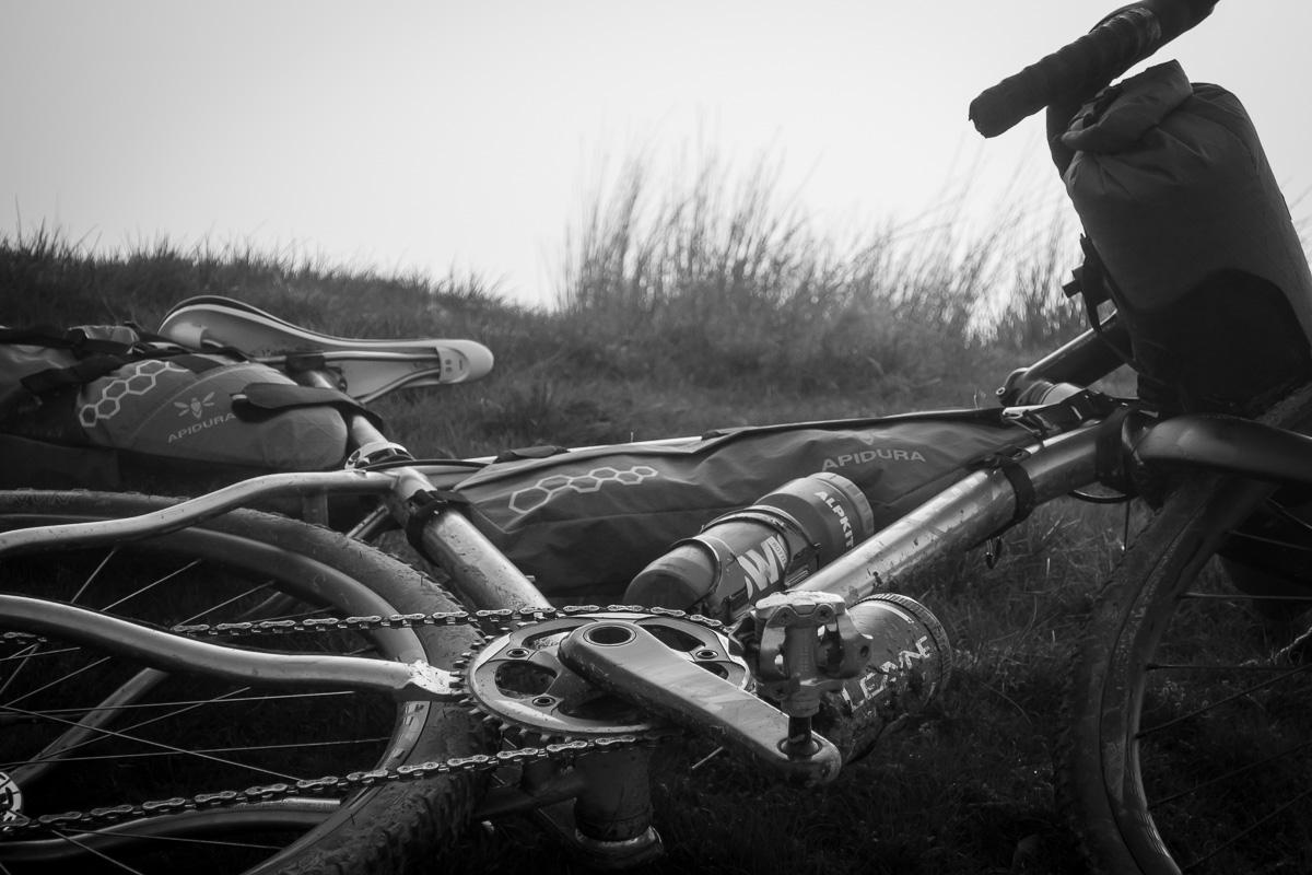 why cycles R+, gravel bike, bikepacking, alpkit, apidura, lezyne,