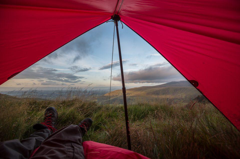 Beacons way, hiking, bivvy, hill walking, brecon beacons, blog, wild camp, tarp, alpkit,