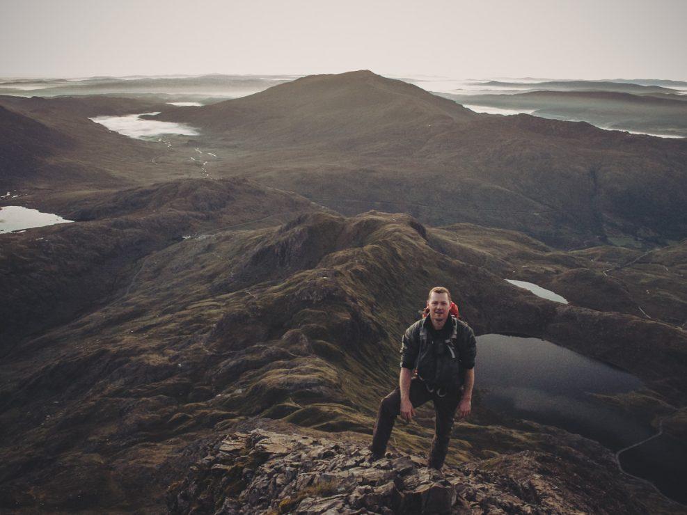 Snowdonia, hiking, scrambling,
