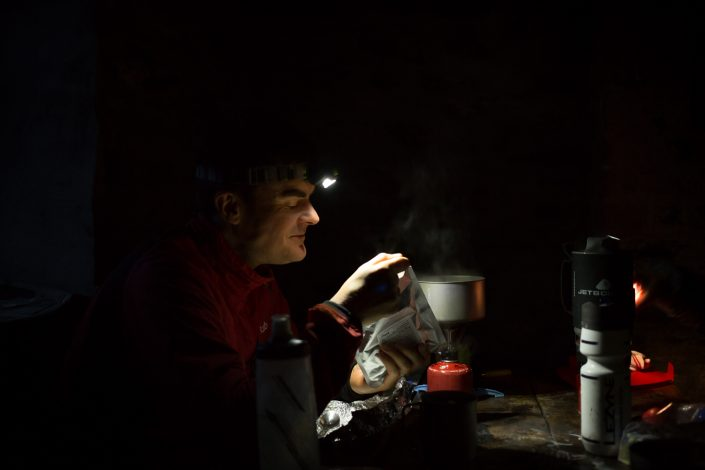head torch, cooking, camping, explore, adventure, photo, bothy, bikepacking,