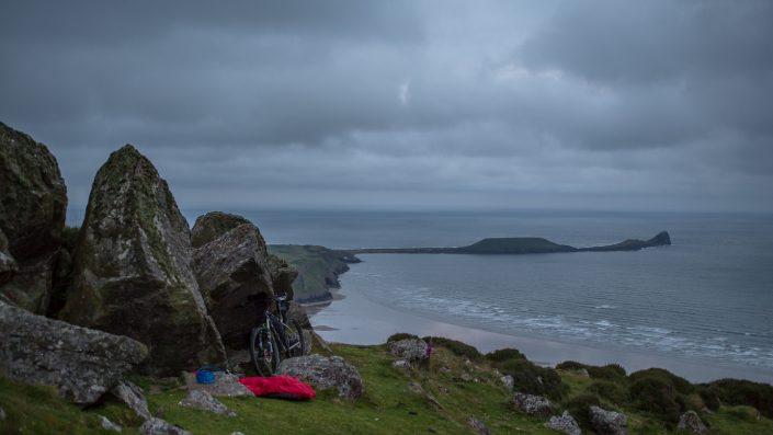Bikepacking, adventure, cycling, wales, explore, gower, alpkit, wormshead,
