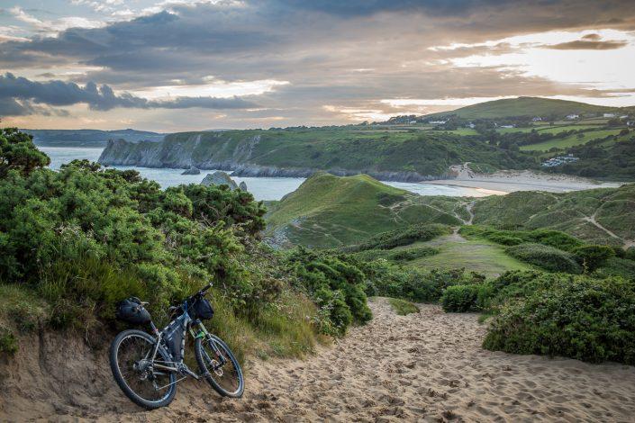 Bikepacking, adventure, cycling, wales, explore, wildcat gear, gower,