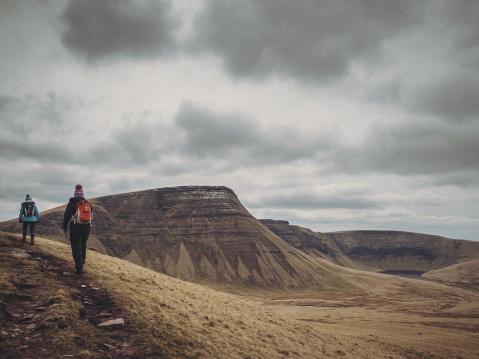 Llyn Y Fan Fach, Carmarthenshire, Hiking, walking, mountains
