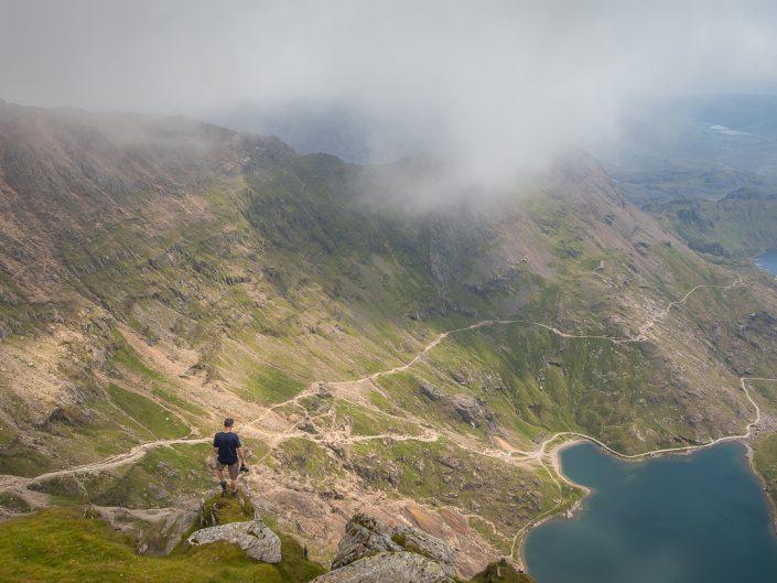 Hiking, walking, trail running, snowdon, snowdonia, Howies, explore,