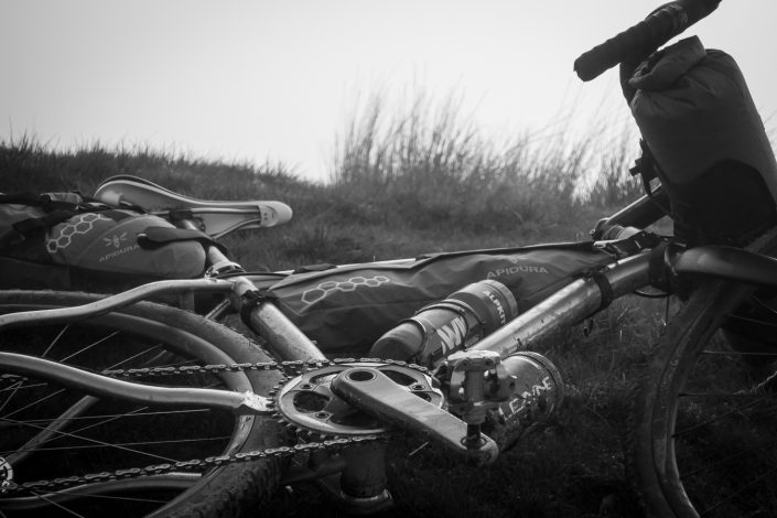 why cycles. R+, gravel bike, Apidura, titanium bike,