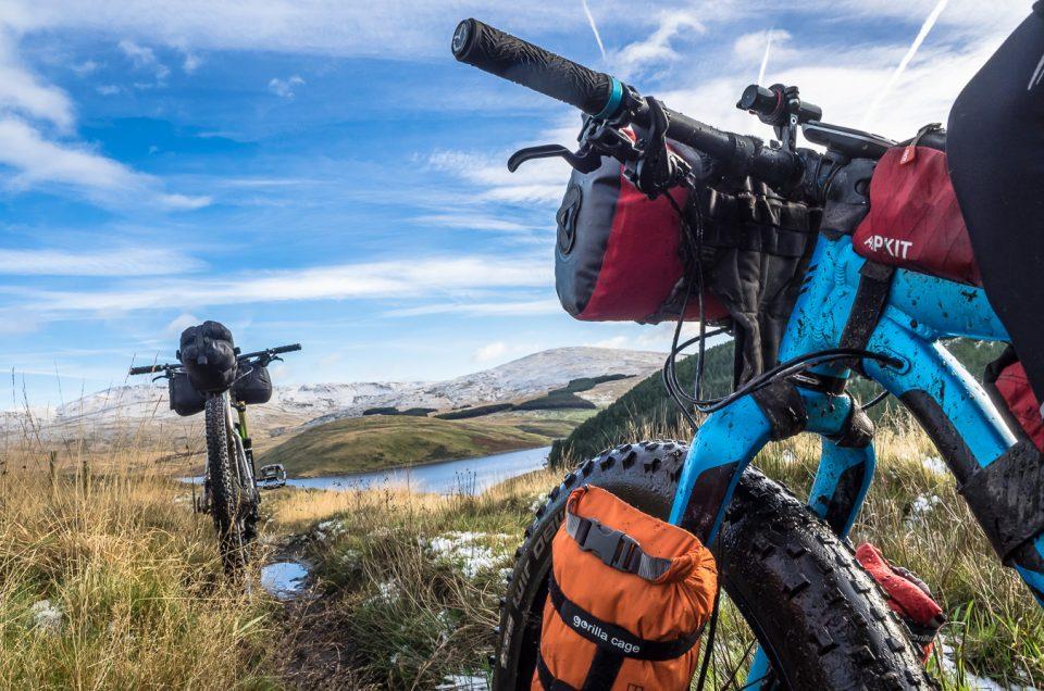 Alpkit, gorilla cage, bikepacking,