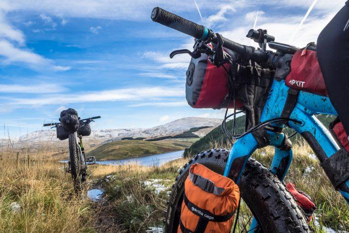 Alpkit, gorilla cage, fat bike, bikepacking, adventure bike, cycling,