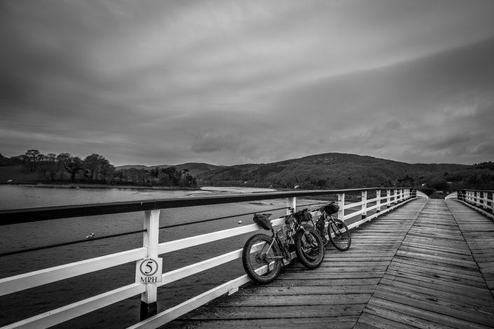 bikepacking, wooden bridge,