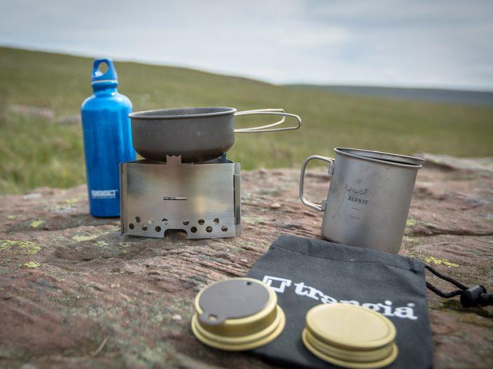 Trangia triangle lightweight stove