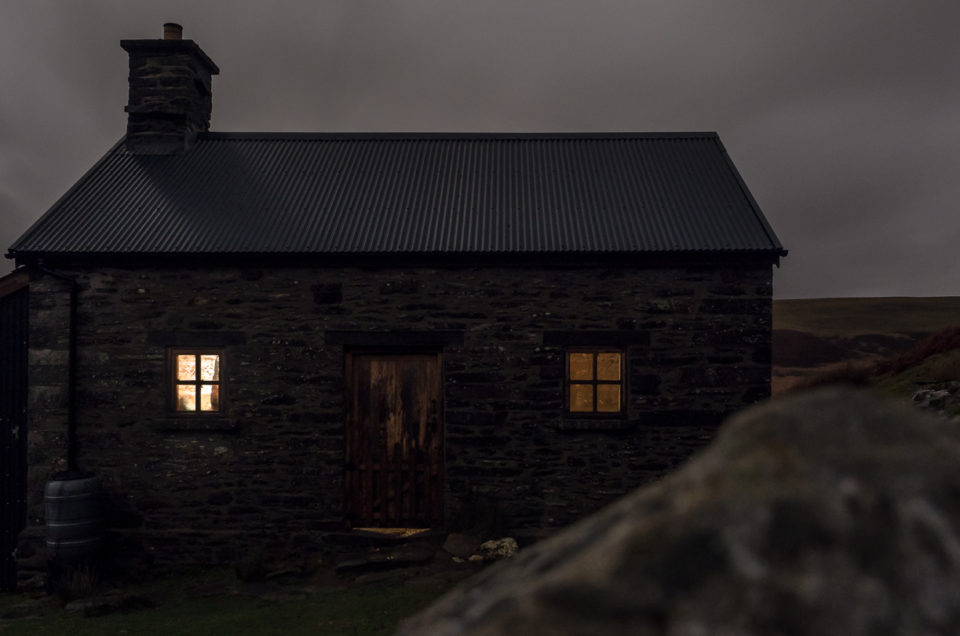 Christmas party in a Bothy